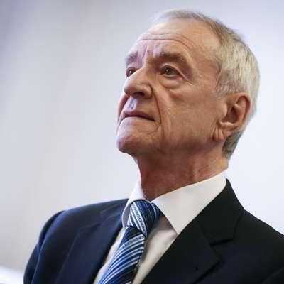 Višje sodišče v Ljubljani je zavrnilo pritožbo Jureta Cekute na  poziv Okrožnega sodišča v Ljubljani na prestajanje zaporne  kazni. Foto: STA