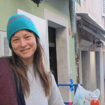Ana Žerjal je poskrbela za organizacijo istrske Zelemenjave. Foto: Alenka Penjak