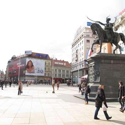 V Zagrebu so ustanovili novo politično stranko levice Možemo!  (Zmoremo!). Foto: Andraž Gombač