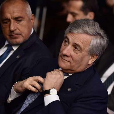 Predsednik Evropskega parlamenta Antonio Tajani Foto: STA