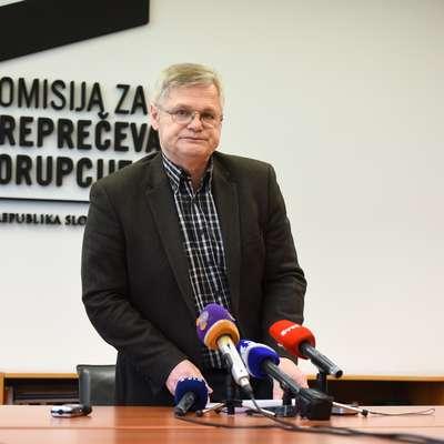 Predsednik Komisije za preprečevanje korupcije (KPK) Boris  Štefanec Foto: Nebojsa Tejic