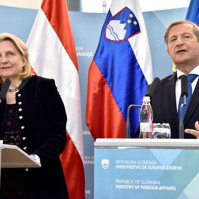Kneisslova: Avstrija podpira stališče Slovenije glede arbitražne razsodbe
