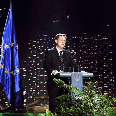 Slovenski in madžarski premier, Miro Cerar in Viktor Orban,  sta se v petek zvečer v Lendavi dogovorila za skupno  srečanje obeh vlad v začetku prihodnjega leta. Foto: STA