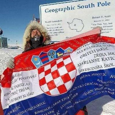 Prvi Hrvat peš osvojil Južni tečaj