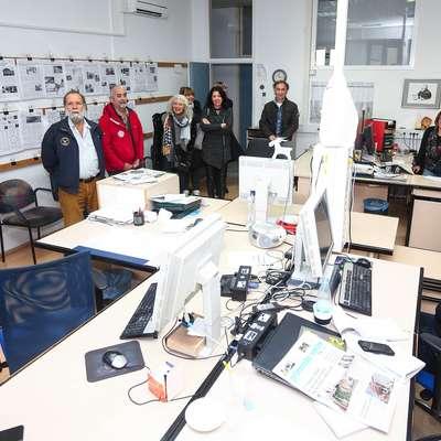 Na obisku na sedežu Primorskih novic v Kopru Foto: Tomaž Primožič/FPA