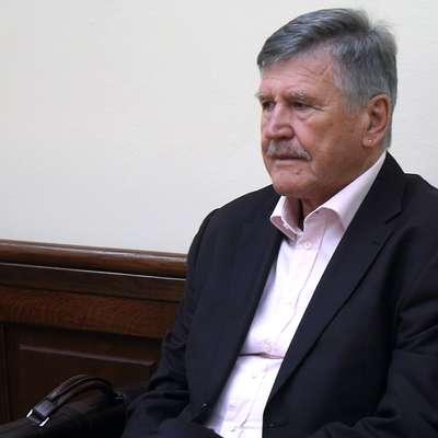"""""""Prepričan sem, da nisem storil nobenega kaznivega dejanja,"""" je  bil danes kratek nekdanji prvi mož Primorja Dušan Črnigoj. Foto: Zdravko Primožič/FPA"""