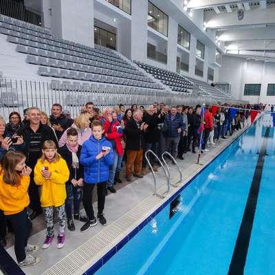 Odprli so olimpijski bazen