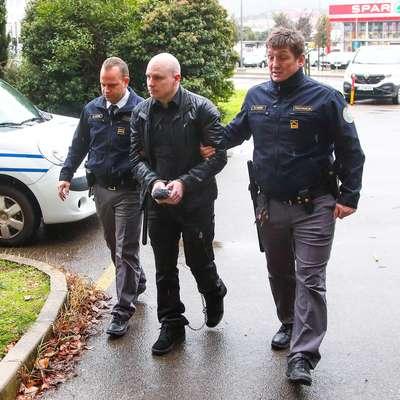 Marko Abram, obtožen dveh umorov, se še ni izrekel o krivdi