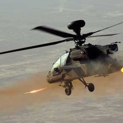 Na japonsko šolsko igrišče padel del ameriškega vojaškega helikopterja