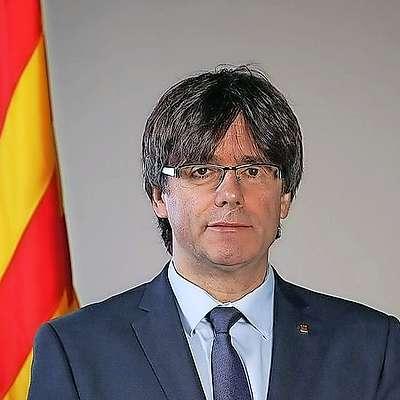 Katalonski premier Carles Puigdemont naj bi nocoj ob 21. uri  nagovoril javnost. Foto: Wikipedia