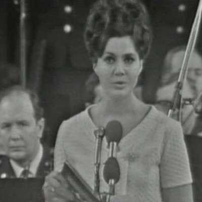 V 81. letu je umrla pionirka slovenske televizije, napovedovalka  Kristina Remškar. Foto: Vir: rtvslo.si