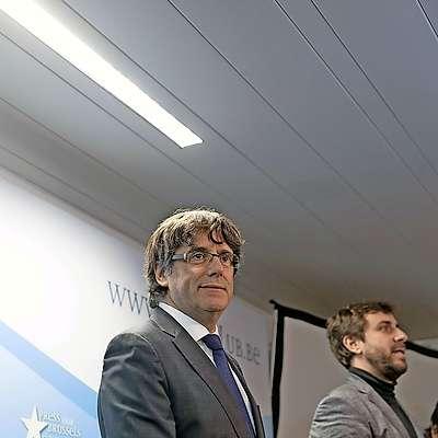 Bivši katalonski predsednik Carles Puigdemont Foto: STA