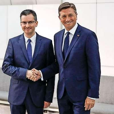 Za Boruta Pahorja je v prvem krogu glasovalo  47,21 odstotka  volilcev, za njegovega protikandidata v drugem krogu Marjana Šarca pa 24,76 odstotka volilcev.