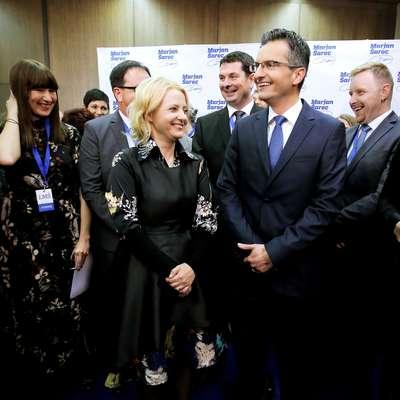 Marjan Šarec je že čestital Borutu Pahorju za zmago. Foto: STA