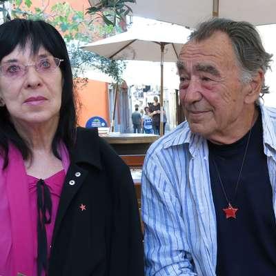 Svetlana Makarovič in Milan Rakovac Foto: Andraž Gombač