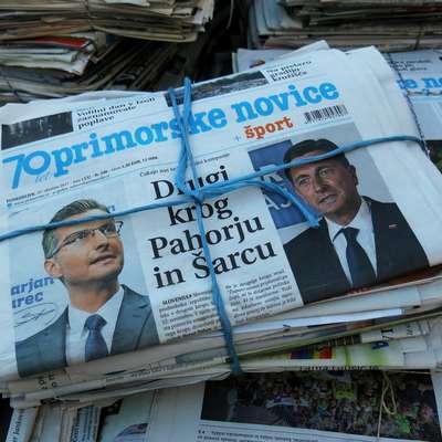 Če bi bile volitve predsednika danes, bi zelo tesno zmagal  aktualni predsednik Borut Pahor, kaže javnomnenjska raziskava, ki jo je za Pop TV opravil inštitut Mediana. Foto: ANDRAŽ GOMBAČ