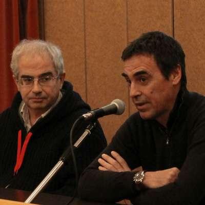 Andrea Bellavite in Massimo Crivellari (z leve)