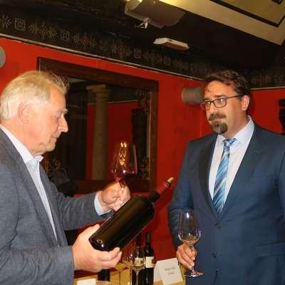 Župan Tadej Beočanin in Boris Stegovec Foto: Alenka Tratnik