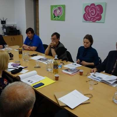 Na novinarski konferenci so predstavili pomen zaposlitvenega  centra  in prizadevanja za ohranjanje  dragocenih   delovnih  mest. Foto: Alenka Ožbot