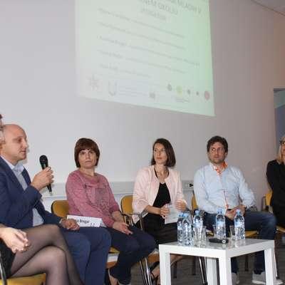 Udeleženci zaključne konference so projekt pohvalili kot primer  dobre prakse. Foto: Alenka Tratnik