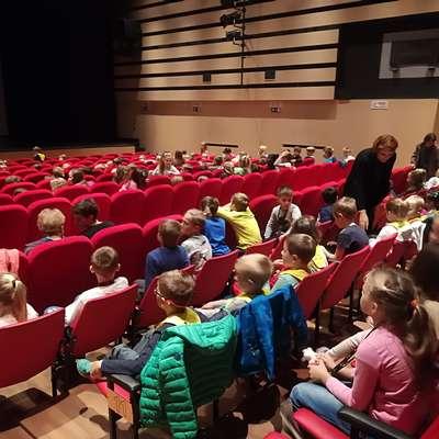Do 18. oktobra si bo  projekcije  ogledalo  več kot 3000 otrok in  mladih. Foto: Alenka Tratnik