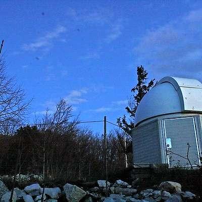 Observatorij na Otlici. Foto: Srednja Šola Veno Pilon Ajdovšči