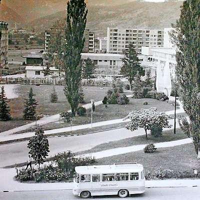 Ob križišču Erjavčeve in Delpinove  ulice je dolgo bil travnik,  danes tam stoji Eda center.  Foto: Goriški muzej