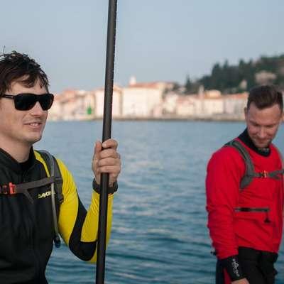 S supi še zadnjič letos obredli slovensko obalo in jo očistili nesnage