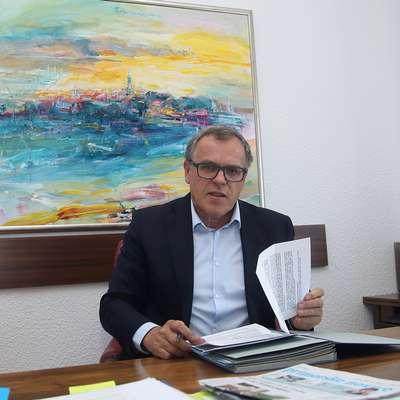 Danilo Markočič priznava, da je vloga župana bistveno težja od vodje kabineta ali svetnika. Foto: Zdravko Primožič/FPA
