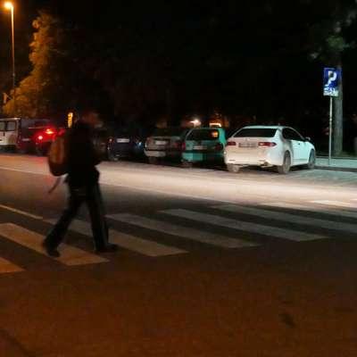 Policisti pešcem svetujejo, naj tudi sami poskrbijo za svojo  varnost. Foto: Leo Caharija