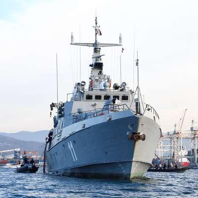 V okviru operacije Sophia so  rešili že več kot 49.000 ljudi. V  operaciji sodeluje tudi slovenska vojska z ladjo Triglav, ki je  trenutno  na operativni nalogi. Foto: Tomaž Primožič/FPA