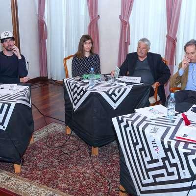 Na koprskem delu 19. Foruma Tomizza so o azilu premišljevali (z leve) Emir Imamović - Pirke, Miha Blažič - N
