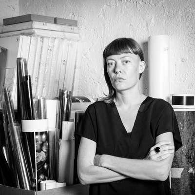 Vizualna umetnica Špela Volčič je tokrat uporabila fotografijo  kot  medij za izražanje.   Foto: S. B.