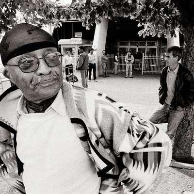 Na festivalu se poklanjajo letos umrlemu  Cecilu Taylorju.   Foto: Ziga Koritnik