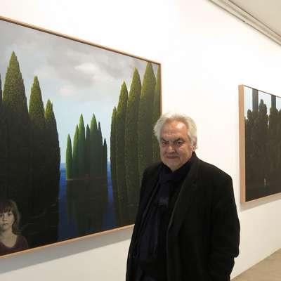 Andrej Medved je danes  delo Metke Krašovec najprej predstavil v  Meduzi, zatem še na univerzi.  Foto: Andraž Gombač