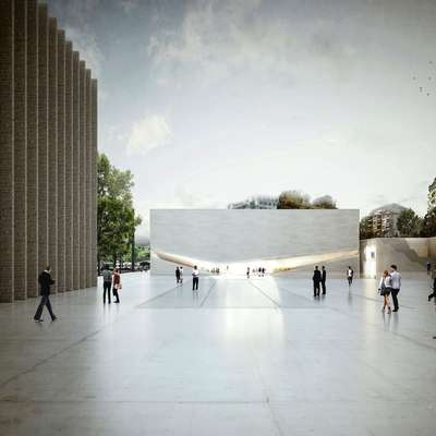 Na razstavi bodo predstavili tudi  projekt Aires Mateus: Dva muzeja v Lozani.