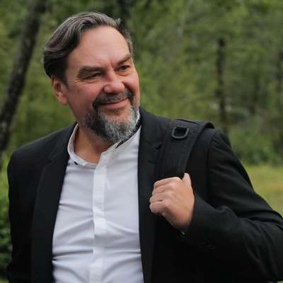 Jurij Andruhovič nam poroča o lanskem obisku in se veseli letošnjega.    Foto: Andraž Gombač