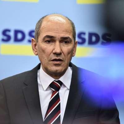 Predsednik SDS Janez Janša Foto: STA