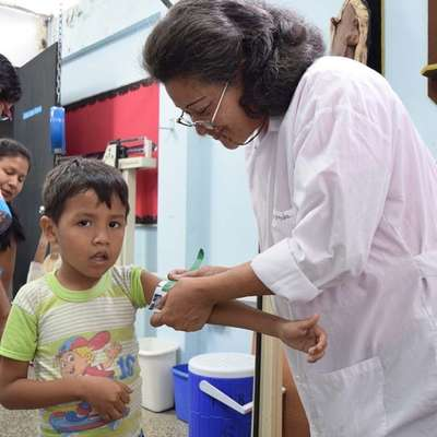 Ljudem v Venezueli pomagajo humanitarne organizacije, med  njimi Caritas Venezuela (na sliki).