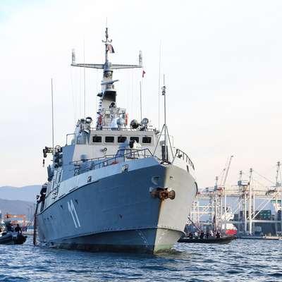 Vojaška ladja Triglav bo predvidoma v petek spet odplula na  operacijo Sophia. Tudi tokrat, tako kot prvič, pomanjkljivo  opremljena. Foto: Tomaž Primožič/FPA
