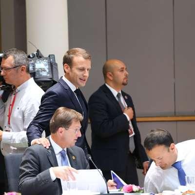 Voditelji 28 članic EU so se po maratonskih pogovorih naposled le  dogovorili  o skupnem pristopu za obravnavo migracij.  Foto: STA