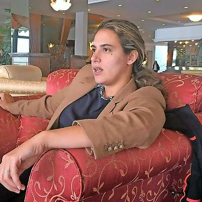 Nikki Usher je Slovenijo obiskala na pobudo ameriškega  veleposlaništva v Sloveniji. Foto: Antiša Korljan
