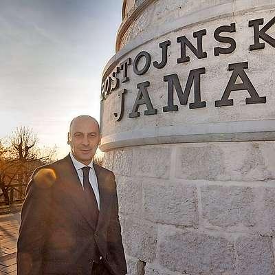 """Marjan Batagelj: """"Želimo umiritev razmer na  Cerkljanskem za čim boljši delovni zagon."""" Foto: Leo Caharija"""