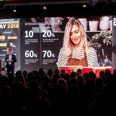 Najboljše spletne trgovce so razglasili v okviru celodnevne  konference o spletnem nakupovanju Ecommerce Day 2018. Foto: Ziga Intihar