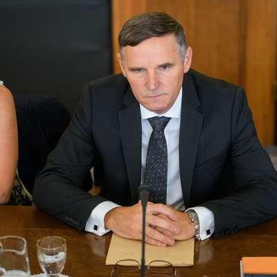 Andrej Bertoncelj je dobil tudi zaupanje opozicijskih članov  odbora za finance. Foto: Nebojsa Tejic/STA