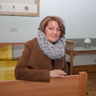 Angela Lampe je končno dočakala odprtje Centra slovenske Istre  Ankaran na Debelem rtiču. Foto: Tomaž Primožič/FPA