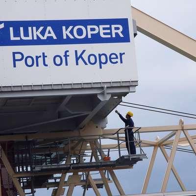 Za postopno zaposlitev delavcev IPS se zavzemajo tudi v  Luki Koper. Foto: Zdravko Primožič/FPA