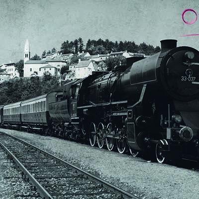 Z muzejskim vlakom iz Nove Gorica na martinovanje v  Štanjel