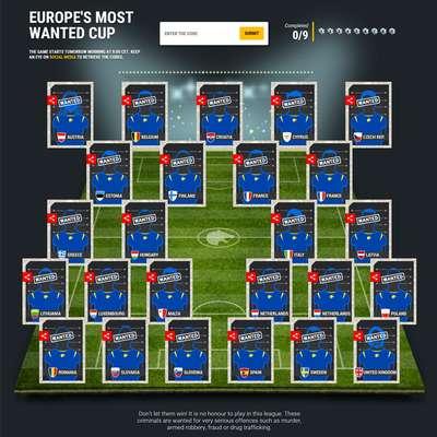 Danes na spletni strani Europola začenjajo razkrivati najbolj  iskane kriminalce v Evropi.