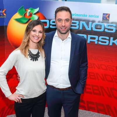 Sobotno prireditev bosta v Sežani vodila Karin Sabadin in Matej Sukič. Foto: Tomaž Primožič/FPA